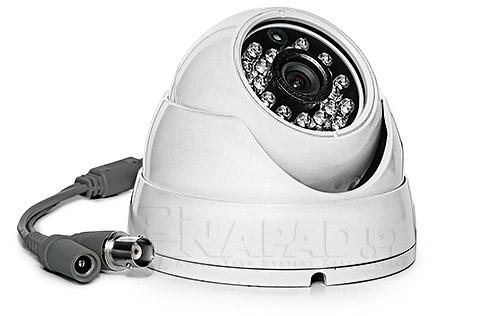 Kamera kolorowa z oświetlaczem IR AT DI 560 E Effio w NAPAD.pl
