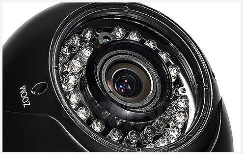 Kamera z IR LED AT DVi560E OSD w NAPAD.pl